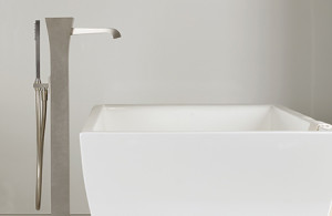Gessi Mimi floor tub fillerCU