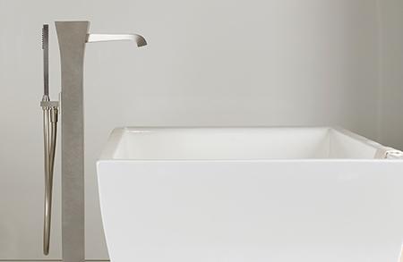 Gessi Mimi floor tub fillerCU