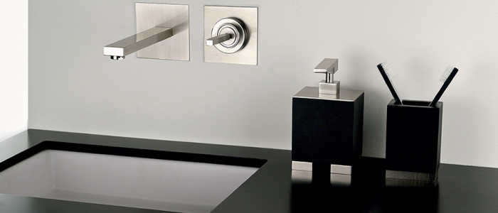 Gessi Rettangolo J wall mount faucet