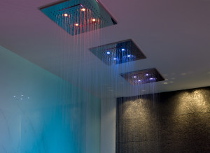 Gessi chromatherapy showers